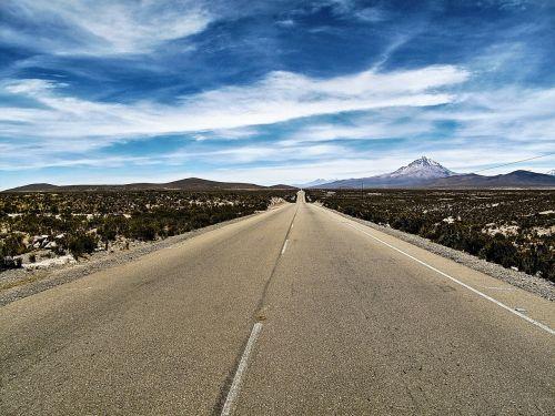 bolivia sajama road