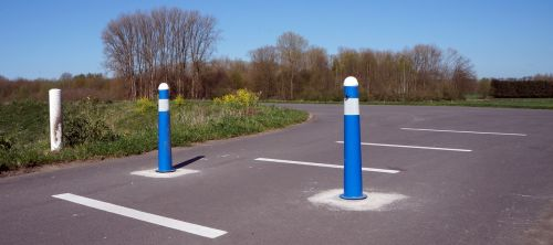 bollard barrier forbidden