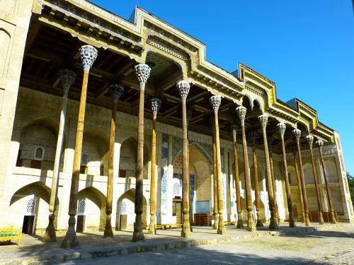 bolo hauz mosque columnar