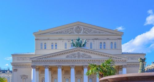 bolshoi theatre the façade of the culture