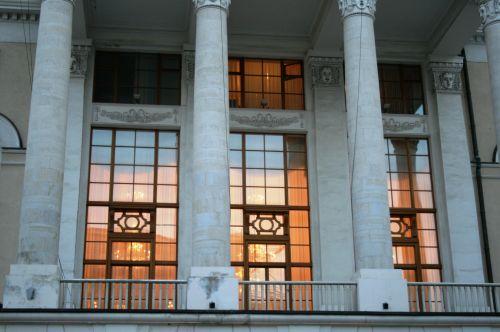 Bolshoi Theatre Balcony, Moscow