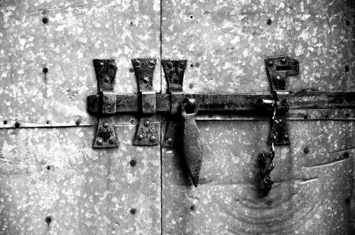 bolt lock door