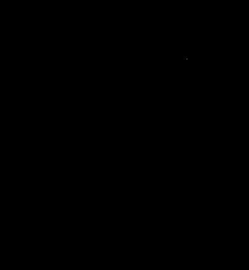 bolt lightning silhouette