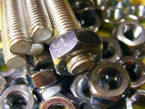 bolt nut construction