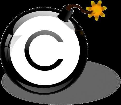 bomb copyright explosive
