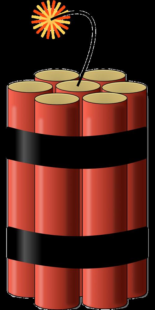 bomb dynamite explosives