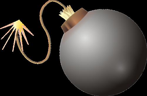 bomb explode detonate