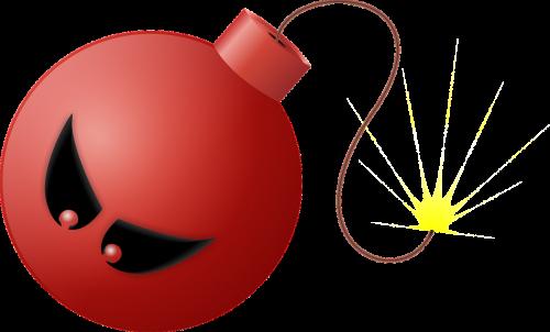 bomb explode anger