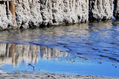 Bombay Beach Ruins Reflection