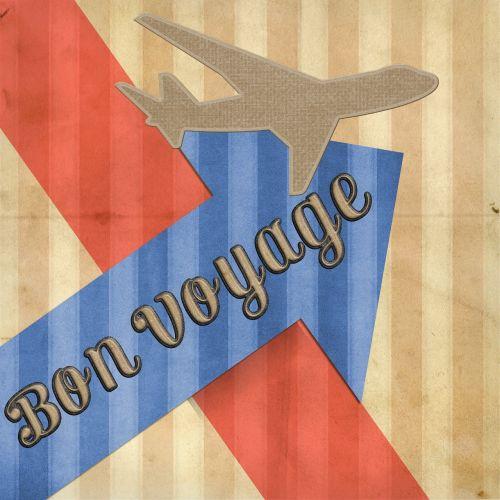 bon voyage card greeting