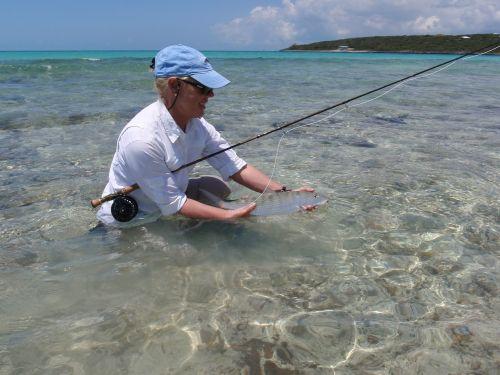 bone fish fly fishing bahama