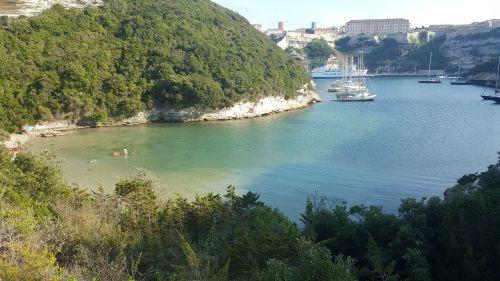 bonifacio sea corsica