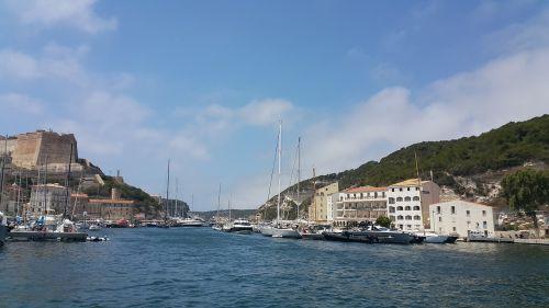 bonifacio the port corsican