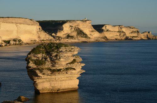 bonifacio corsica white cliffs