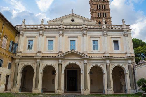 bonifacio e alessio aventijskij hill rome