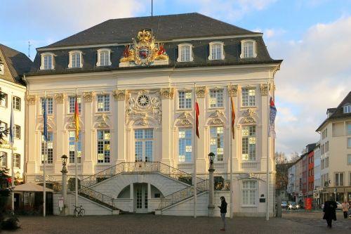 bonn rhine river town hall