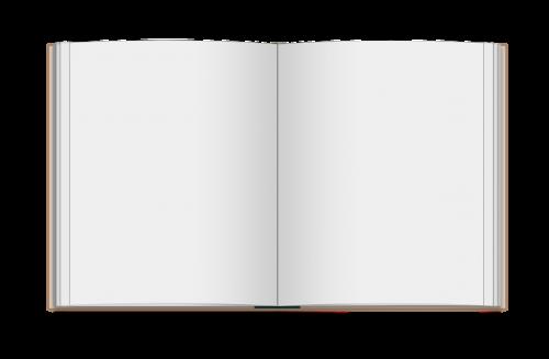 book blank hardcover