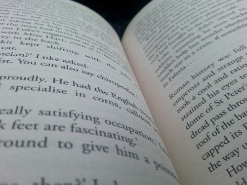 book literature pages