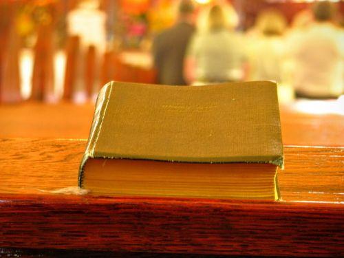 book booklet church