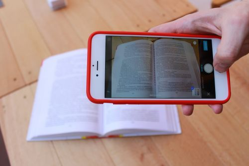 book scanner iphone
