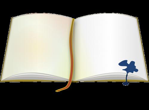 book bookmark ink