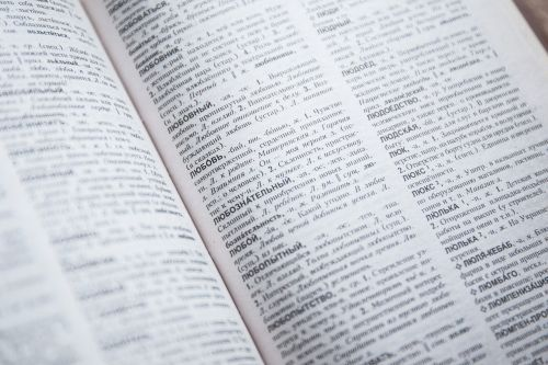 book dictionary encyclopedia