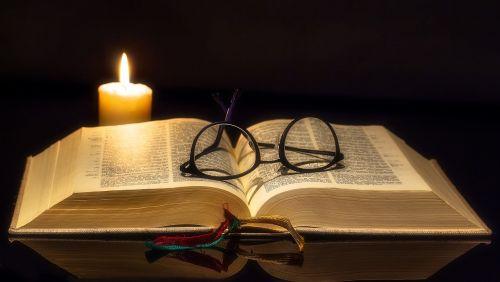 book bible open