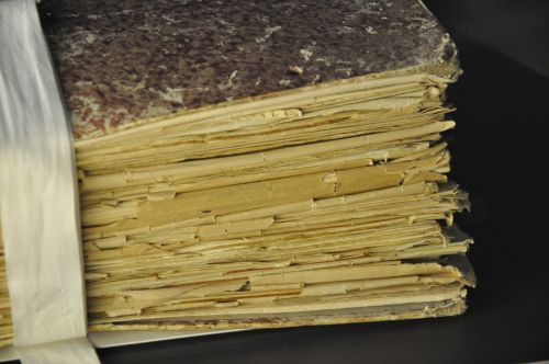 book manuscript paper
