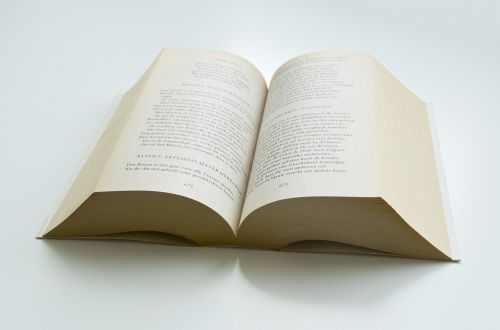 book poetry paper