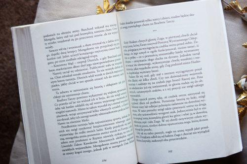 book open reading