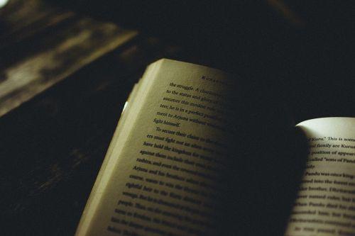 book knowledge dark