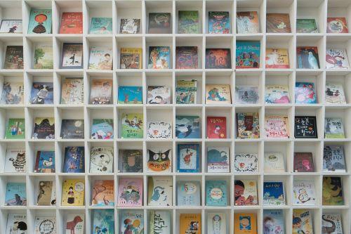 book bookcase books