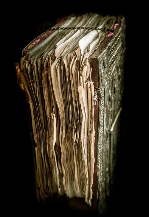 book scroll manuscript