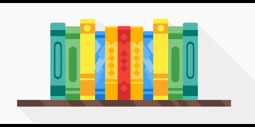 book rack shelf