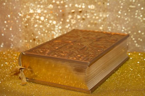 book gold bible