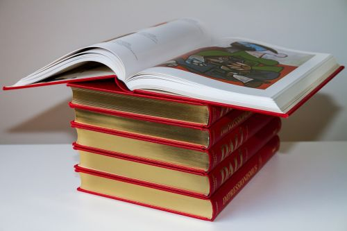 book book stack education