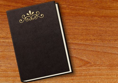 book embossing leather