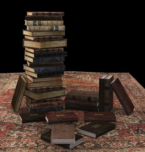 book  book stack  carpet