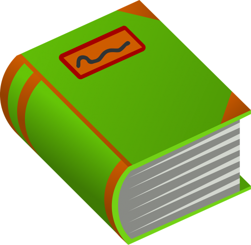 book green thick