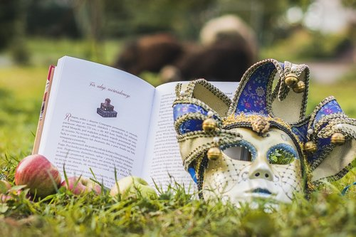 book  mask  education