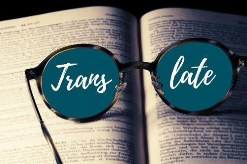 book  glasses  translate