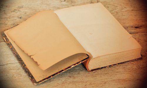 book old antique