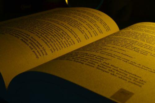 book open open book