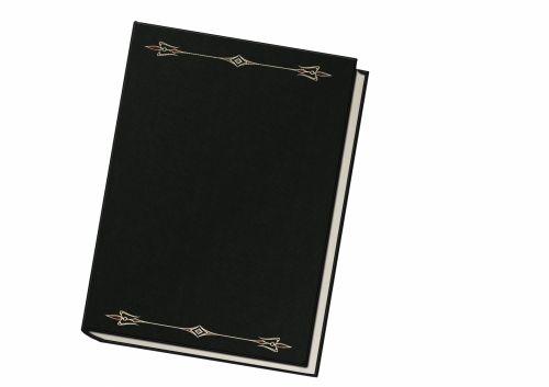 Book Black White Background