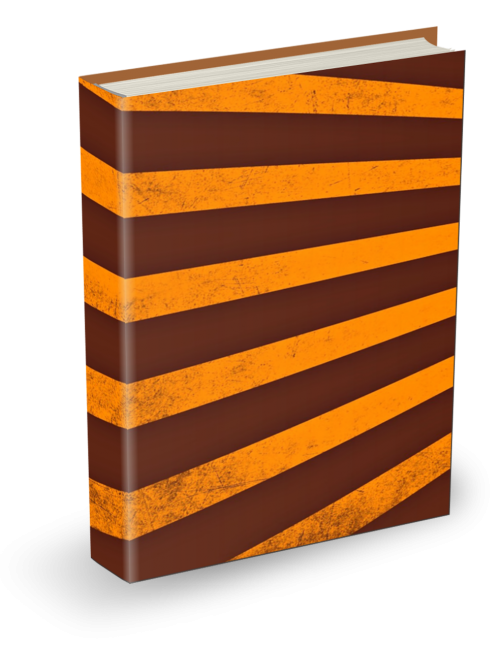 book cover gold brown