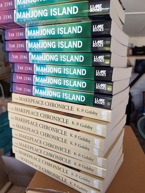 book stack new books book