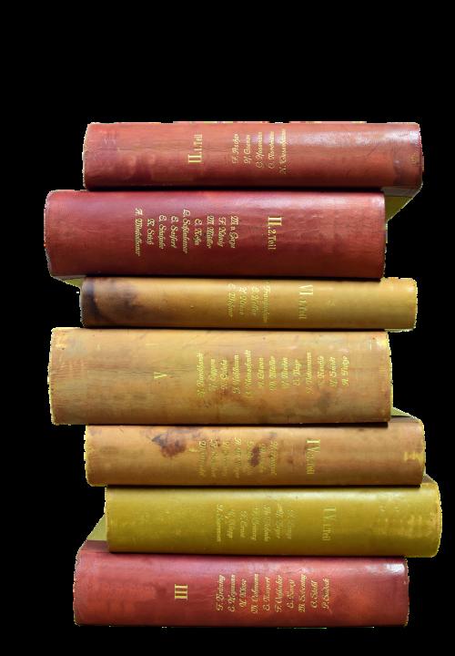 book stack books antiquariat