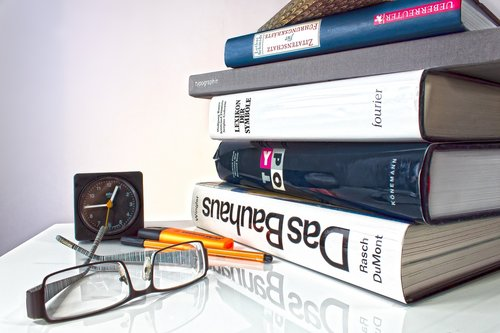 book stack  book  learn