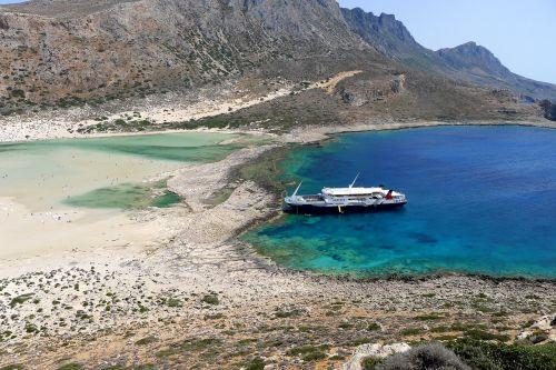 booked beach greece