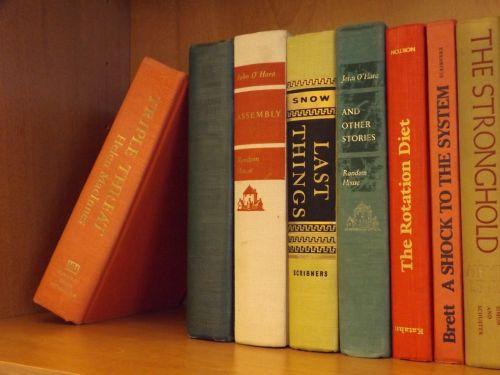 books bookshelf library